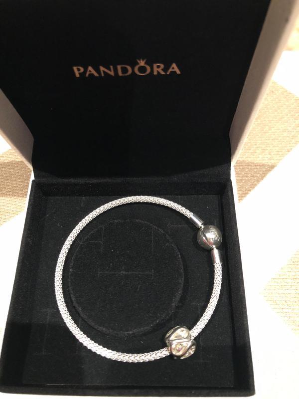 da4930337 Moments Mesh Bracelet Sterling silver