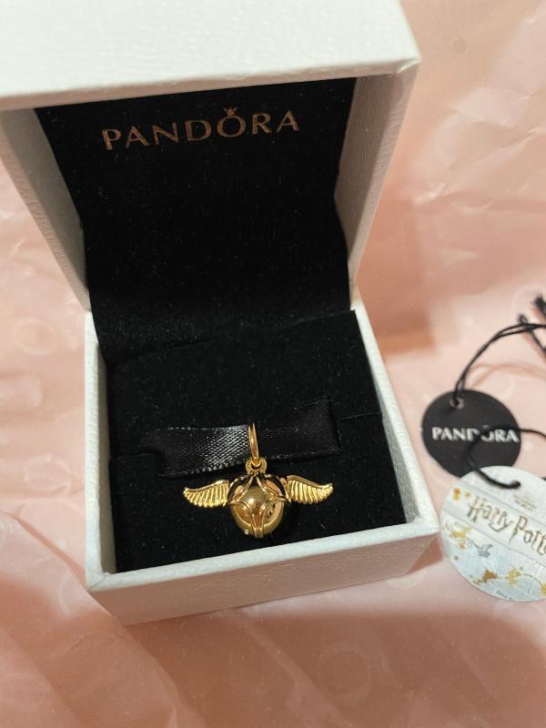 Harry Potter, pendentif Vif d'or | Plaqué or | Pandora Canada
