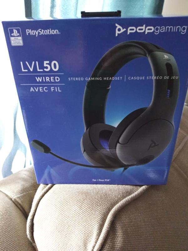 PDP Gaming LVL50 Wired Stereo Headset for PlayStation 4
