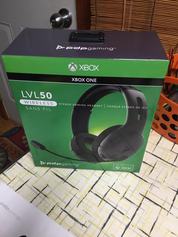 PDP Gaming LVL50 Wireless Stereo Headset for Xbox