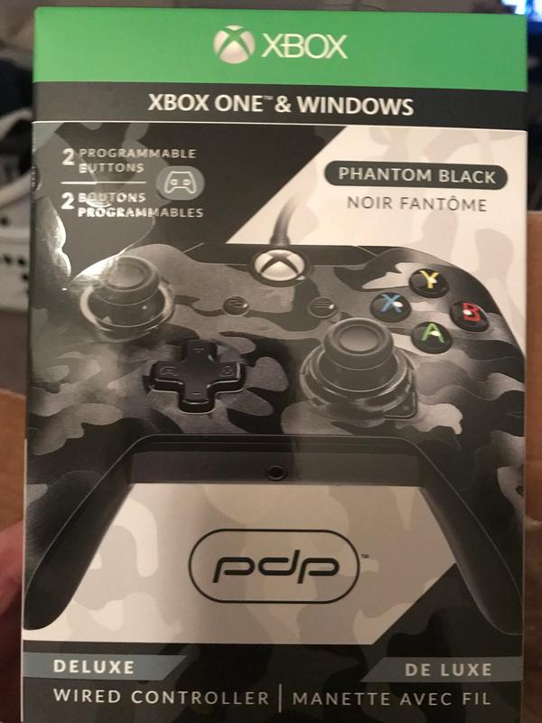 Pdp Camo Wired Controller For Xbox One Driver Windows 7: PDP DX Wired Controller (XB1 - Black Camo - NA)rh:pdp.com,Design