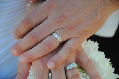 Ct t w diamond triple row anniversary ring in k white