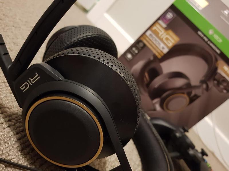RIG 600LX, Micro-casque haute fidélité pour le jeu conçu pour Xbox