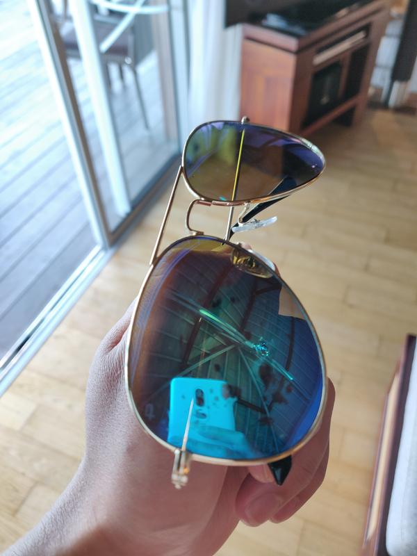 26bd1ea88 The Commando - Classic Aviator Brow Bar Sunglasses