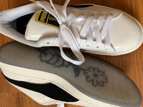3b7669a6dd4c PUMA x BTS Basket Patent Sneakers