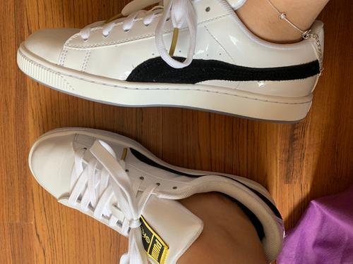 f5bb1cd6850 PUMA x BTS Basket Patent Sneakers