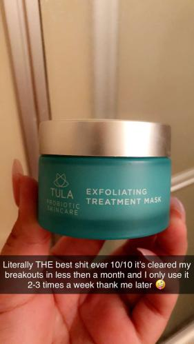 TULA Probiotic Skin Care Exfoliating Treatment Mask — QVC com
