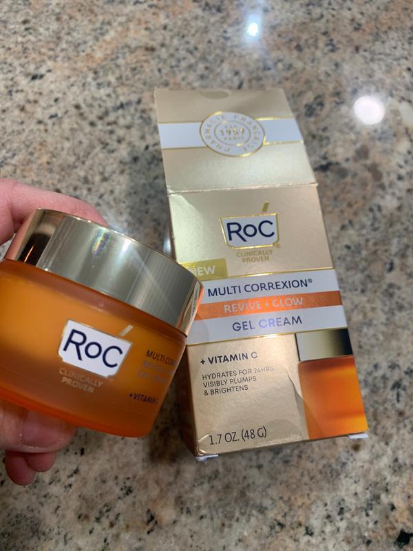 MULTI CORREXION® Revive + Glow Gel Cream – RoC® Skincare