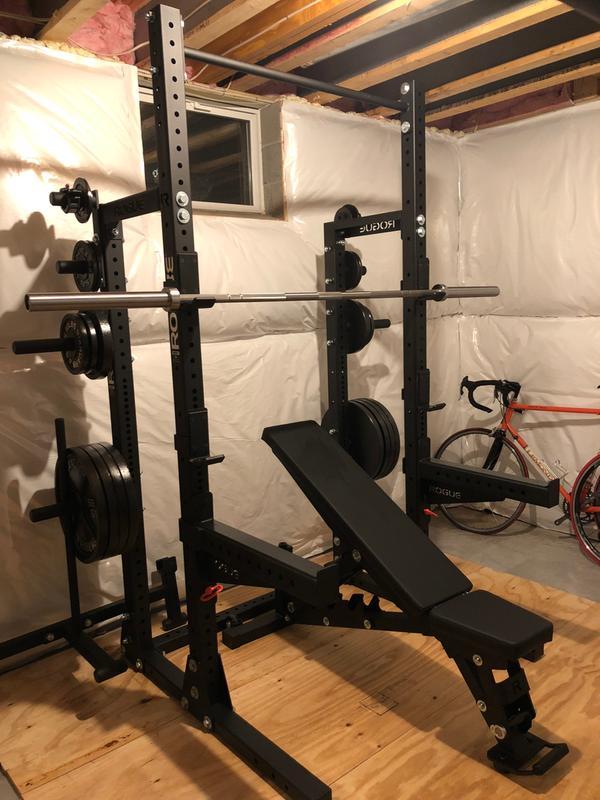 Rogue hr half rack weight training monster lite unit rogue