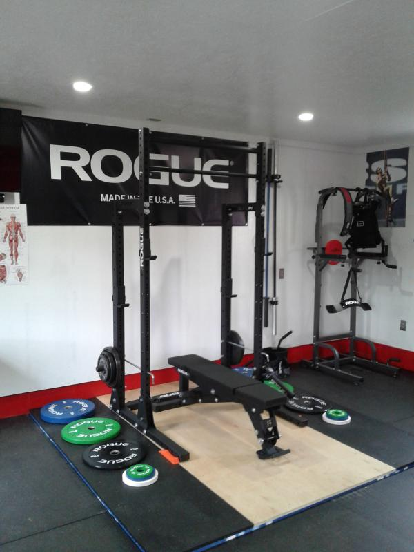 Get rid of a cold garage gym once and for all