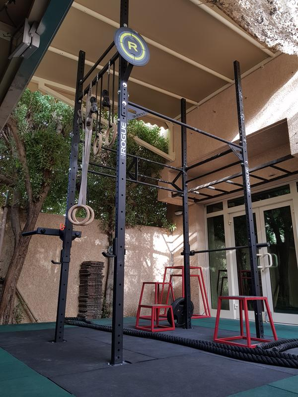 Renovating the garage gym · dad does crossfit