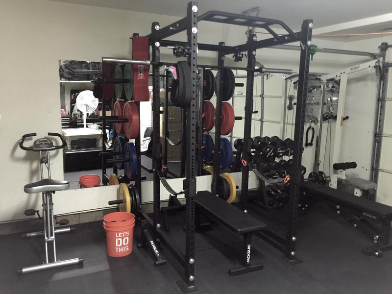 Rogue r 6 power rack weight training extra plate storage rogue