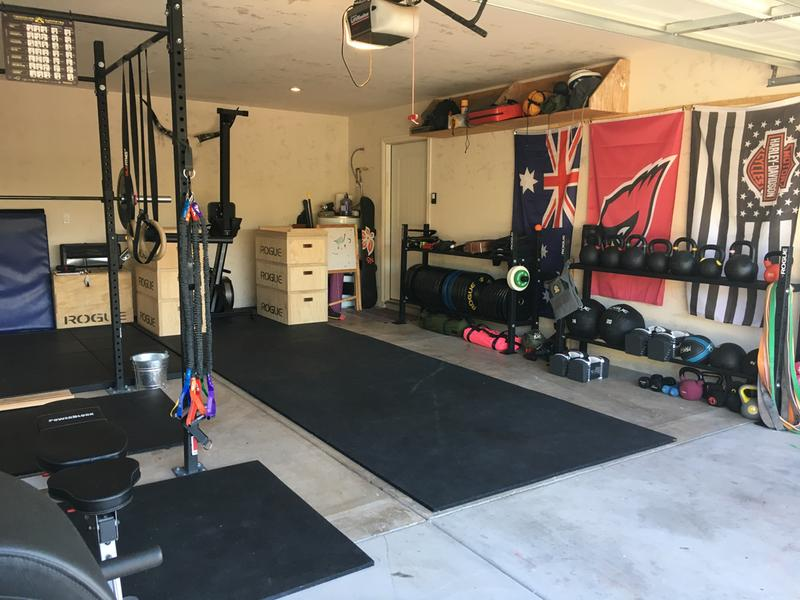Garage gyms rep fitness