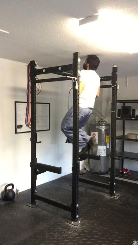 Rogue bolt together r 3 power rack crossfit weight training