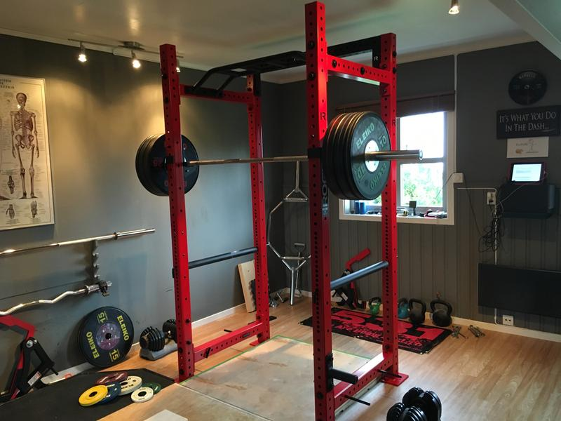 His and hers rogue home gyms garage gyms at home gym garage