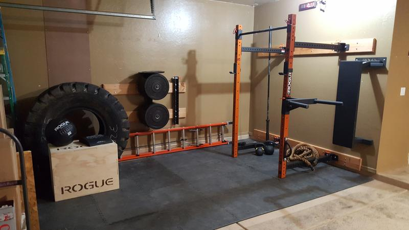Rogue rml 3w fold back wall mount rack made in the usa rogue fitness