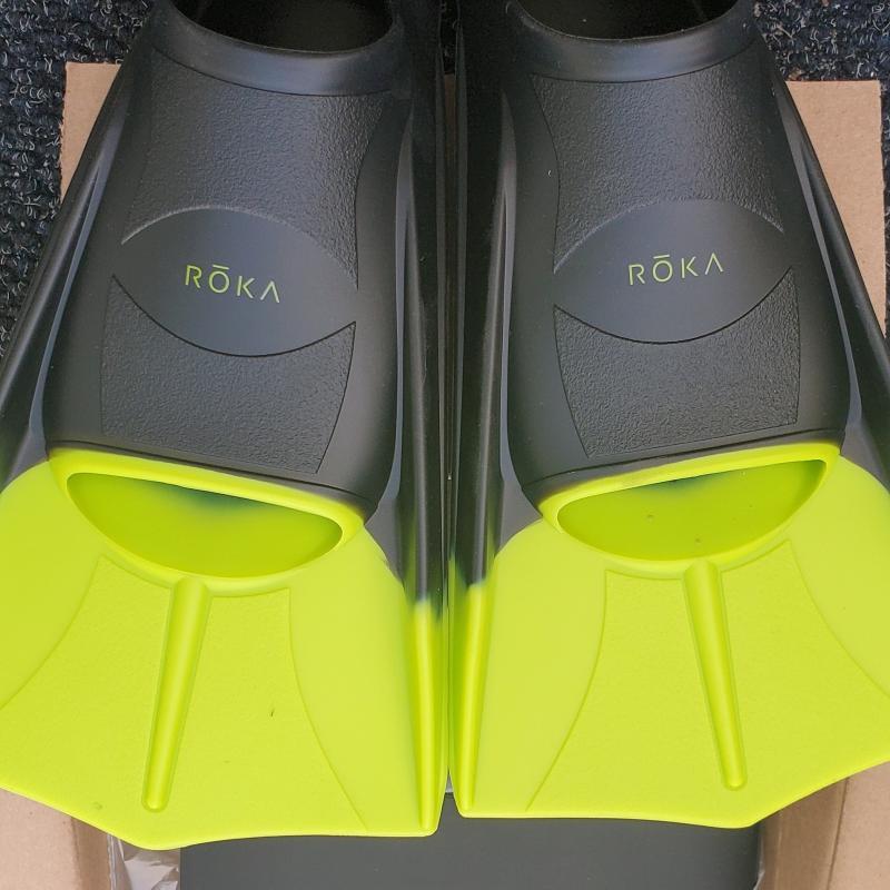 ROKA Classic Silicone Short Swimming Fins