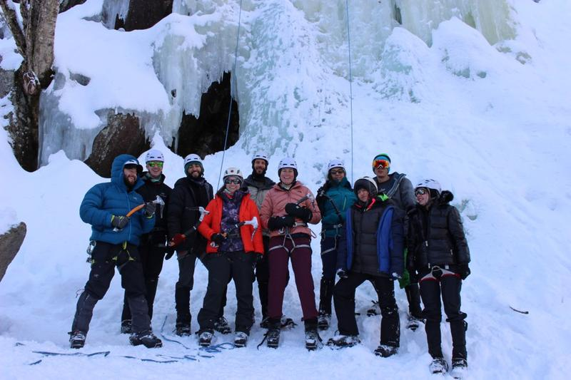 White Mountains Ice Climbing Basics