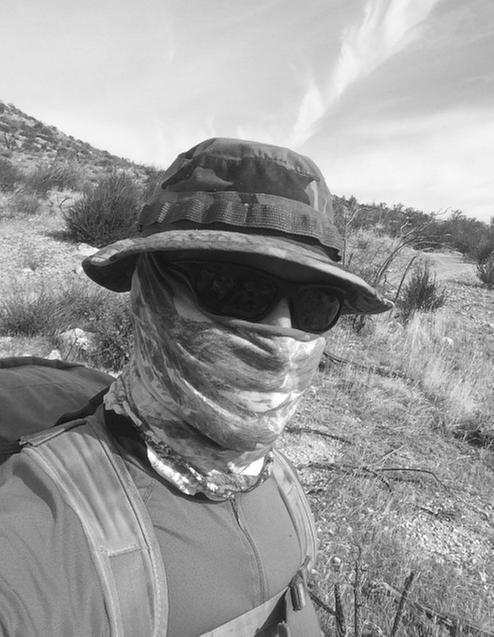 watch 191c6 ae8bf Buff worn in Anza Borrego section of PCT