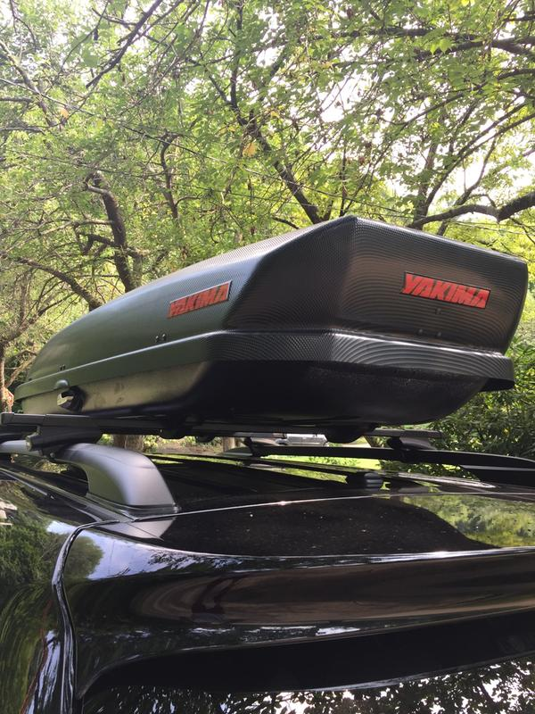 Yakima SkyBox Carbonite Cargo Roof Box REI Coop - Acura mdx roof cargo box