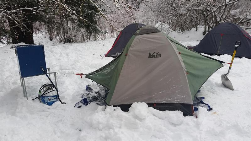 Boy Scout Klondike Derby 2017 & REI Co-op Passage 2 Tent Reviews at REI