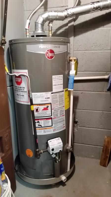 Rheem Residential Gas Water Heaters Performance Atmospheric