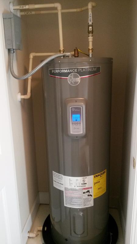 Rheem Residential Electric Water Heaters - Performance