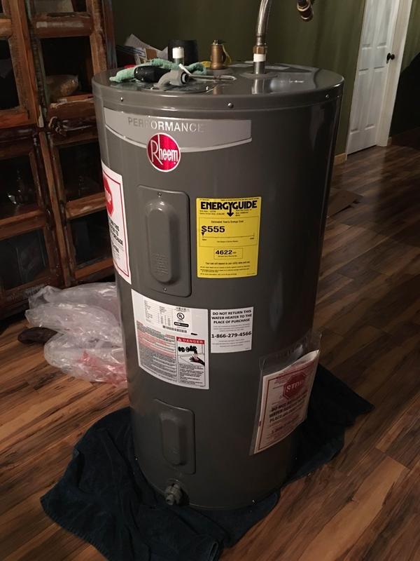 Rheem Electric Water Heater Replacement Parts