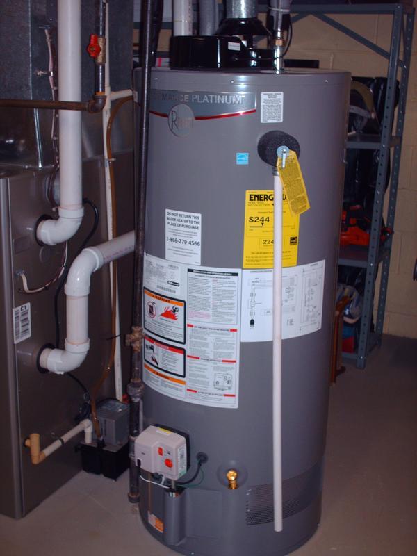 Rheem Residential Gas Water Heaters - Performance Platinum