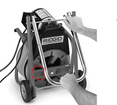 RIDGID 26778 Guide Hose Assembly for K-400 Drum Machine for sale online