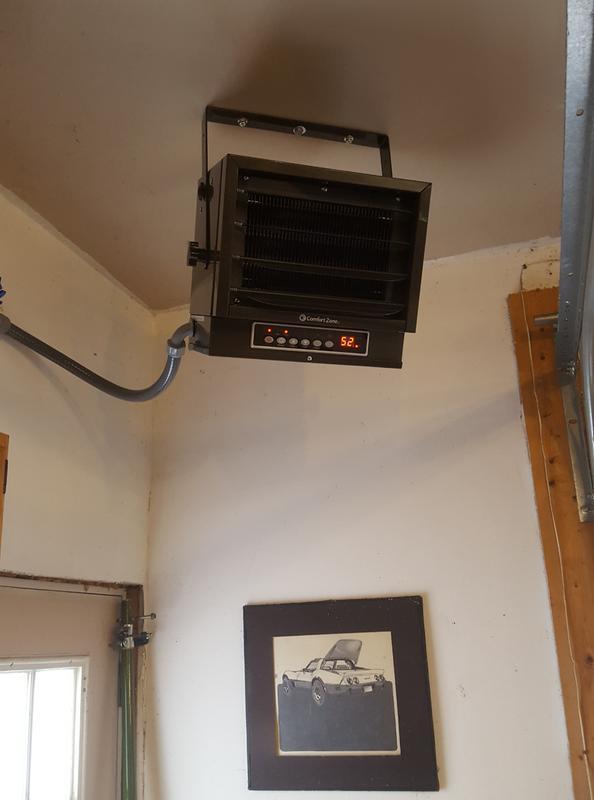Tremendous Comfort Zone 240V 7500W Garage Heater Cz230Er Wiring Cloud Battdienstapotheekhoekschewaardnl