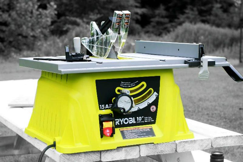 How To Install Blade Guard On Ryobi Table Saw