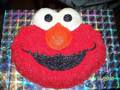 Wilton Novelty 135x105 Shaped Cake Pan Elmo 21053461 Walmartcom