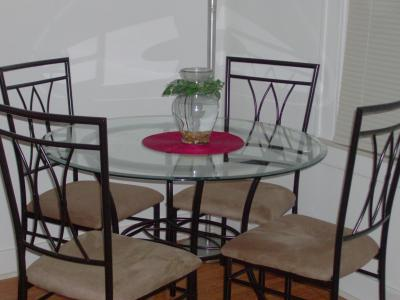 Mainstays 5 Piece Wood And Metal Dining Set   Walmart.com