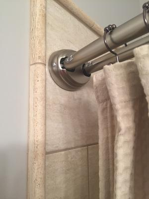 Better Homes And Gardens Double Curved Tension Shower Curtain Rod    Walmart.com