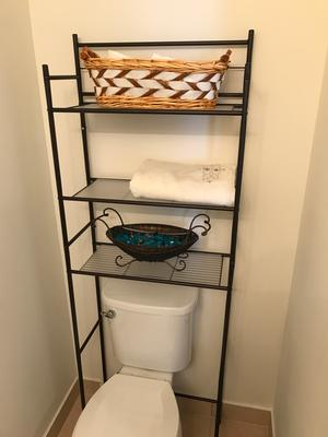 Mainstays 3-Shelf Bathroom Space Saver, Oil-Rubbed Bronze/Black ...