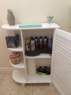 riverridge home ellsworth floor cabinet with side shelves white walmartcom