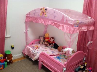 - Disney Princess Toddler Bed With Canopy - Walmart.com