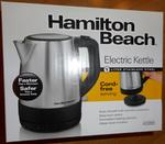Hamilton Beach 1 L Stainless Steel Electric Kettle Model