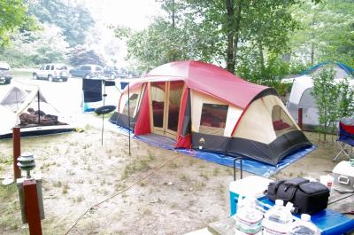 Ozark Trail 10-Person 3-Room Vacation Tent with Built-in Mud Mat - Walmart .com & Ozark Trail 10-Person 3-Room Vacation Tent with Built-in Mud Mat ...