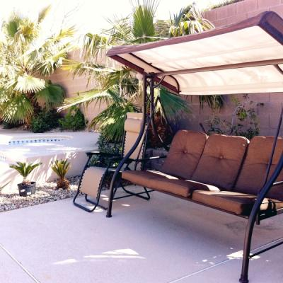 Awesome Mainstays Lawson Ridge Converting Outdoor Swing/Hammock, Seats 3    Walmart.com