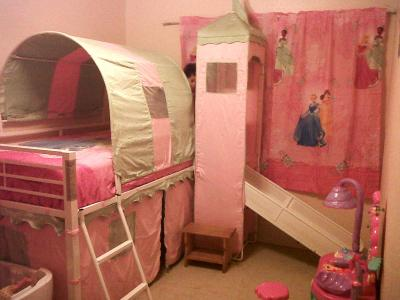 Tent For Loft Bed With Slide Amp Bunk Bed With Slide Top