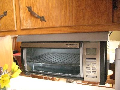 Ordinaire BLACK+DECKER SpaceMaker Under Counter Toaster Oven, Black/Silver, TROS1000D    Walmart.com