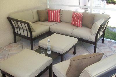 Trend Mainstays Ragan Meadow II Piece Outdoor Sectional Sofa Seats Walmart