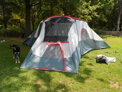 & Ozark Trail 20 Person Cabin Tent - Walmart.com