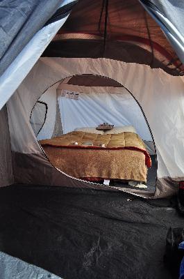 Wenzel 16u0027x11u0027 Klondike 8 Person 3 Season Screen Room C&ing Tent Blue | 36424 - Walmart.com & Wenzel 16u0027x11u0027 Klondike 8 Person 3 Season Screen Room Camping Tent ...