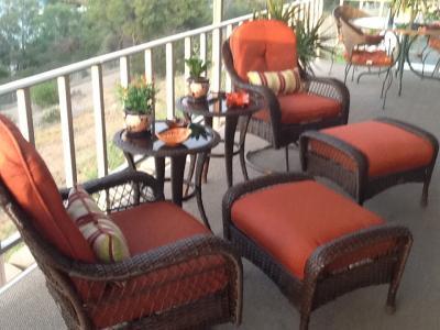 Better Homes And Gardens Azalea Ridge Ottomans, Set Of 2 - Walmart.Com