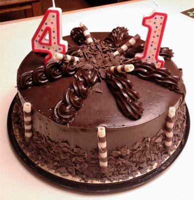 Marketside Ultimate Ganache Chocolate Cake