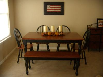 Better Homesgardens Solid Wood Dining Table Walmartcom