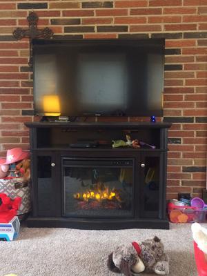 Pleasant Hearth Elliott Media Fireplace - Walmart.com